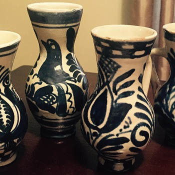 Little pottery vases - Pottery