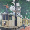 David Horn trolley painting