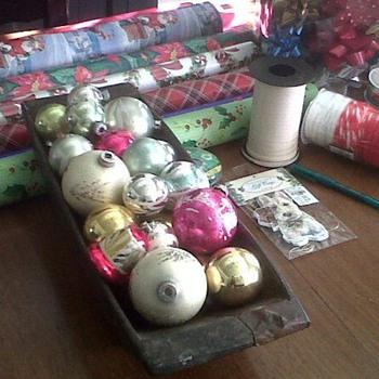 Vintage Christmas ornaments  - Christmas