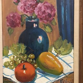 HELP Identify Artist Painting DeVills??? - Fine Art