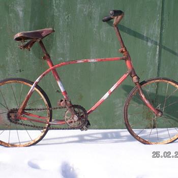 Antique 1956 Kids Bike  - Sporting Goods
