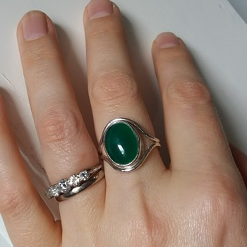 My home-made ring, posted for freiheit to see - Fine Jewelry