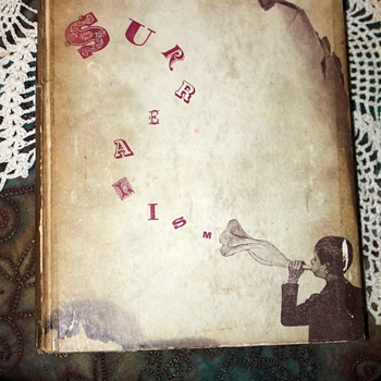 Surrealism by Julien Levy - 1936 book designed by Joseph Cornell - 1500 copies