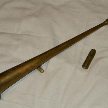 """Antique """"Peacock"""" Car Horn"""
