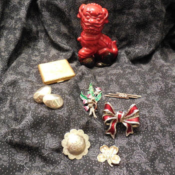 Just Something To Keep Your Interest Silver Brooches And A Little More! :^) - Costume Jewelry