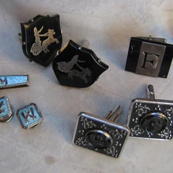 Mad men cufflinks: Romans, Shields, Chariots, Mosiacs.... - Accessories