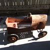 antique pedal car