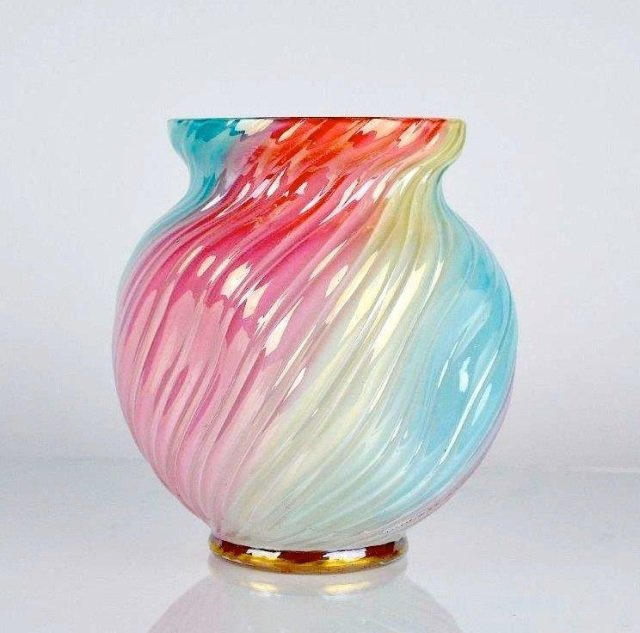 Loetz Rainbow Glass Collectors Weekly