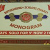 R&S Monogram cigar box