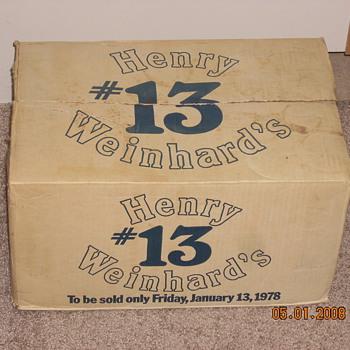 Henry Weinhards #13 - Bottles