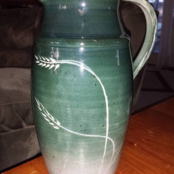 Studio Pottery Pitcher - Pottery