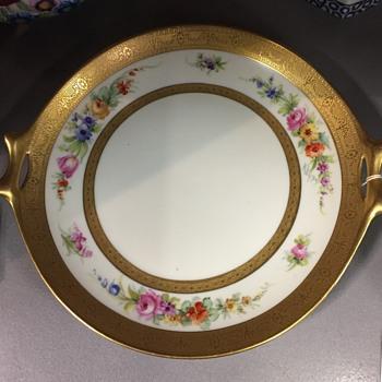 Pickard Handpainted Torte Plate - China and Dinnerware