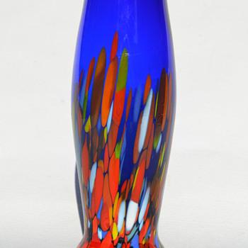 Czechoslovakia in-mold relief mark - Art Glass
