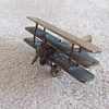 WW1 Sopwith Triplane Trench Art