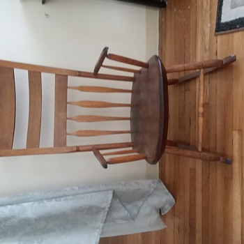 Antique Rocking Chair, unknown - Furniture