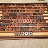 12-line Hamilton Gothic Wood Type Font
