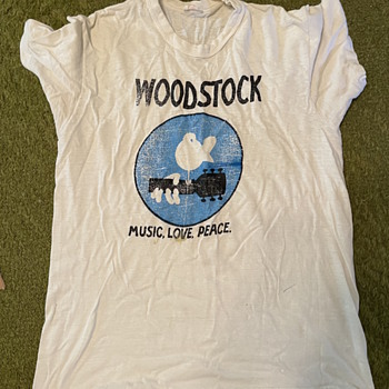 Woodstock Promo T-Shirt TM 1969 - Mens Clothing