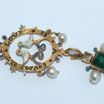 Love Token Pendant -- mid 17th century