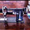 The classy Necchi BU sewing machine