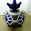 """Mystery abstract Art Pottery signed """"DS"""" Japanese? Any ideas?"""