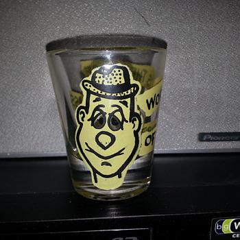 HUMOROUS SHOT GLASS - Glassware