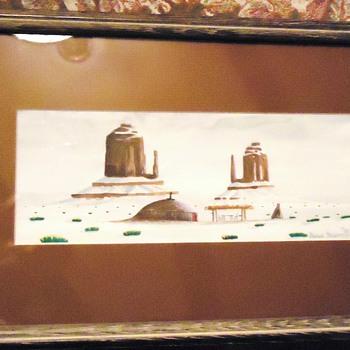 Benson Halwood   Navajo Artist  Watercolors