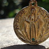 "MEDAL PENDANT ""FATIMA, JHON PAUL THE SECOND"""