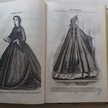 Godey's Lady's Book - Jan-June 1863 - Books