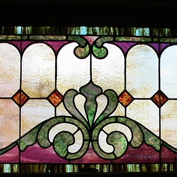 Stained glass windows - c.1910 - Art Glass