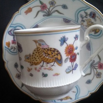 Haviland Limoges Golden Quail China - China and Dinnerware
