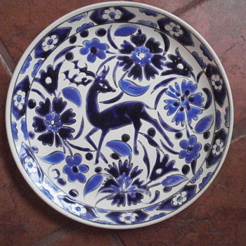 Rhodes Greece Decorative Plate - Pottery