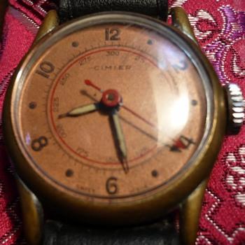 Cimier La Panousse pin pallet Wristwatch circa 1940s - Wristwatches