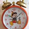1969 Disney Phinney Walker Alarm Clocks