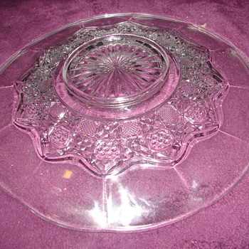 Help with EAPG Platter/Plate - Glassware