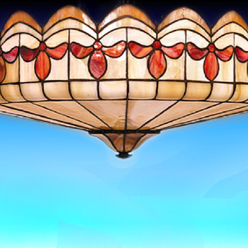 Great leaded dome shade - Lamps