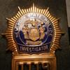 VINTAGE NY STATE POLICE INVESTIGATOR SHIELD
