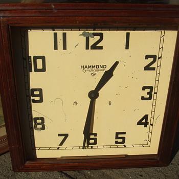 Hammond wall clock - Clocks