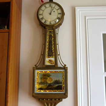 My great, great, great, great grandfather's banjo clock