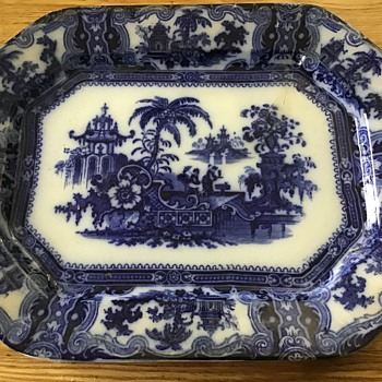 Antique Kyber platter - China and Dinnerware
