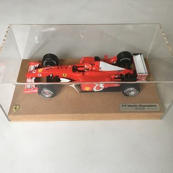 Ferrari f1 model car 2002