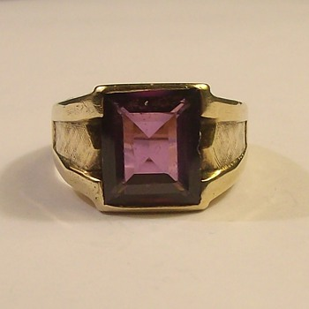 Vintage Men's 10k Ring from the 1950's
