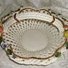 Italian Weaved Ceramic Basket