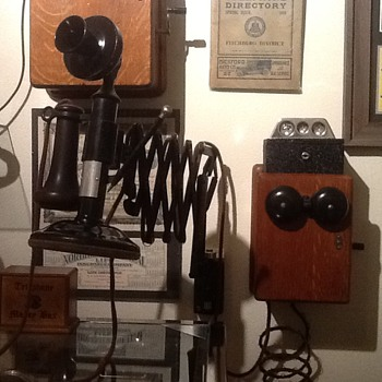 1900's Western Electric Candlestick telephone (working) - Telephones