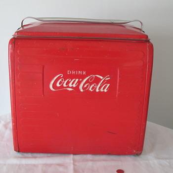 My 1955 Coca-Cola cooler - Coca-Cola
