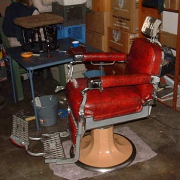 Koken chair from barn - Furniture