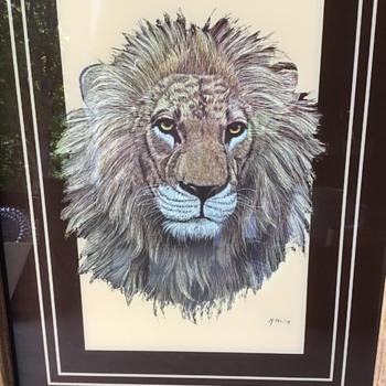 Brice Lion Art - Animals