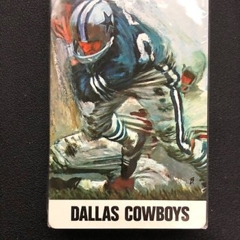 Vintage Dallas Cowboys Playing Cards - Manufacturer/Year?? - Cards