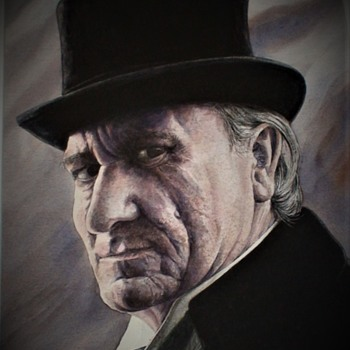 Professor Moriarty  Painting By Patrick Varriano - Fine Art
