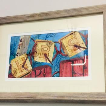 BARBED WIRE ART - Fine Art