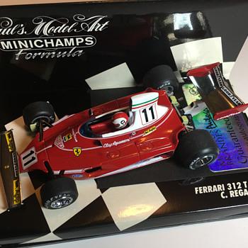 Minichamps Ferrari 312T 1975 Clay Regazzoni 1/43 - Model Cars